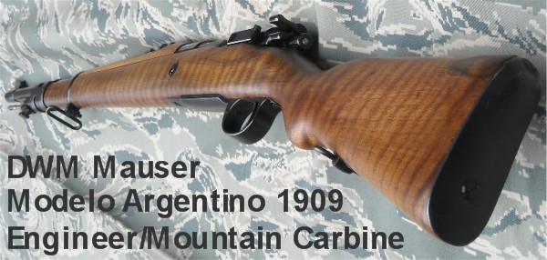 1909 Argentine mauser carbine [Archive] - CMP Forums
